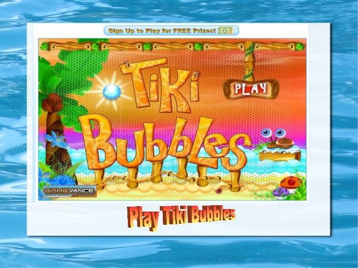 Play Tiki Bubbles