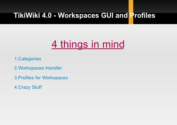 Tikifest Uk - Workspaces Integration