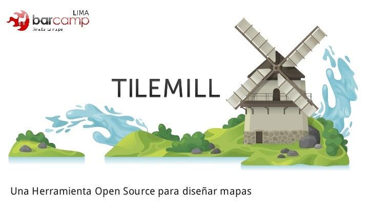 Una Herramienta Open Source para diseñar mapas