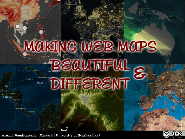 Making Web Maps Beautiful & Different with TileMill