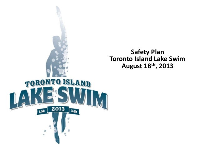 Toronto Island Lake Swim - Safety Plan