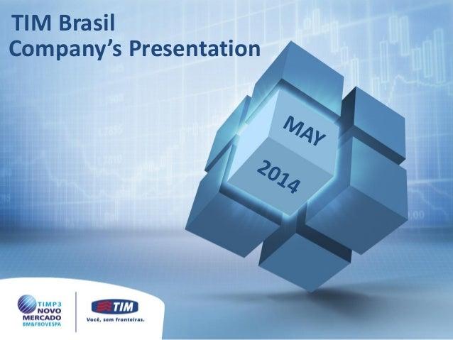 Company's Presentation TIM Brasil