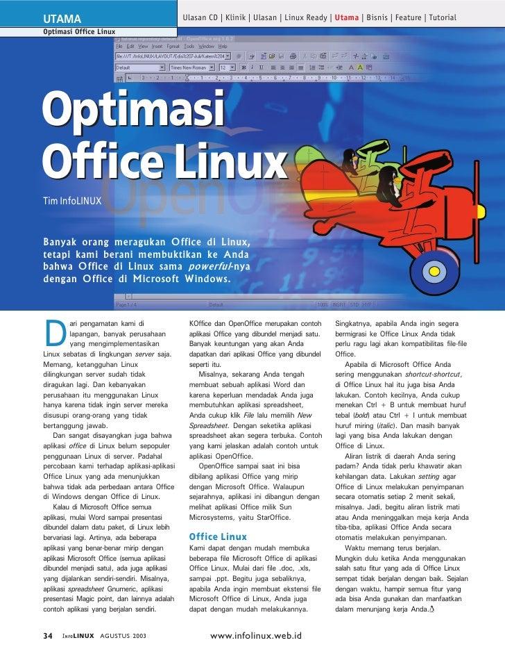 UTAMA                                        Ulasan CD | Klinik | Ulasan | Linux Ready | Utama | Bisnis | Feature | Tutori...