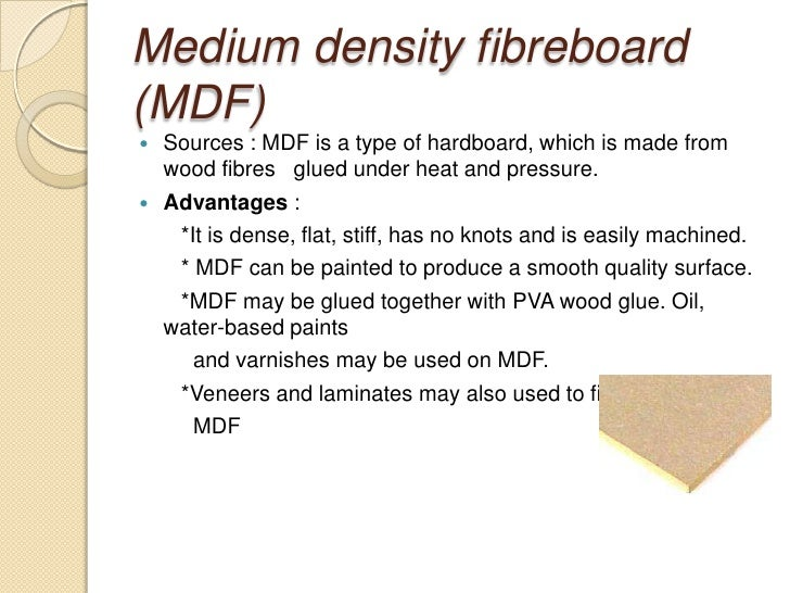 Medium Density Fiberboard Grades ~ Timber