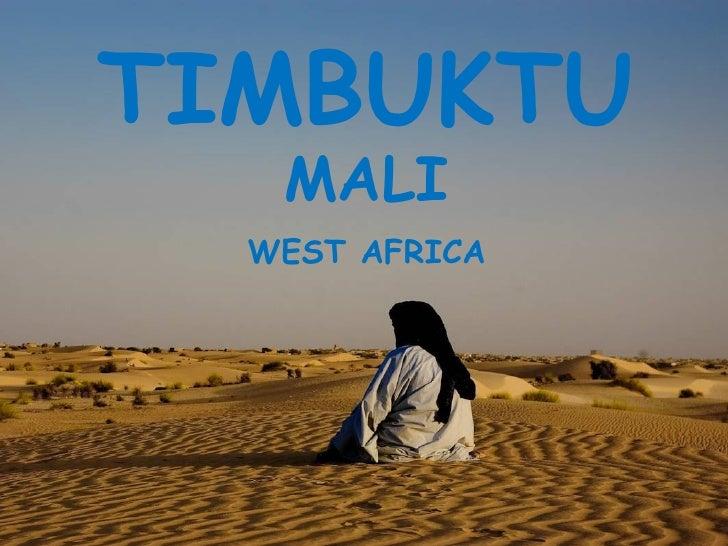 TIMBUKTU MALI WEST AFRICA