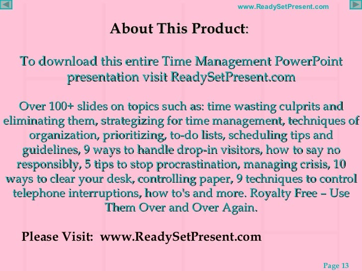 research solutions for time management This list of management research paper topics provides 100 key issues and topics that managers are confronting in the modern world new technologies, globalization.