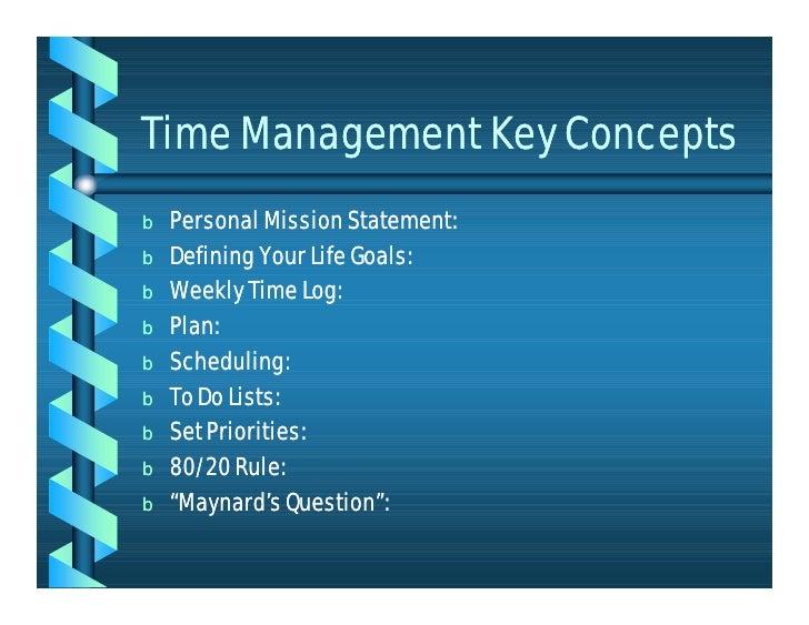 define personal mission statement