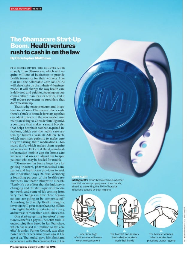 Time Magazine Features StartUp Health Companies