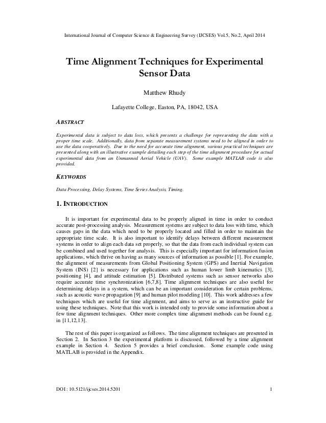 International Journal of Computer Science & Engineering Survey (IJCSES) Vol.5, No.2, April 2014 DOI : 10.5121/ijcses.2014....