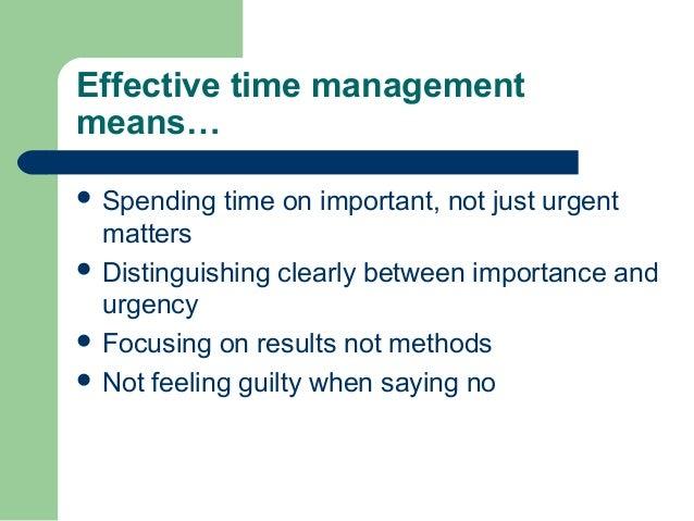 time management 16 essay