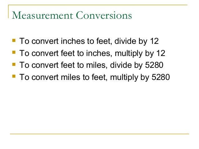 *Conversions - Mrs. Coggins' Webpage - 5th grade Math and Science