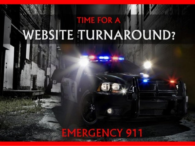 Time for a website turnaround - Emergency 911