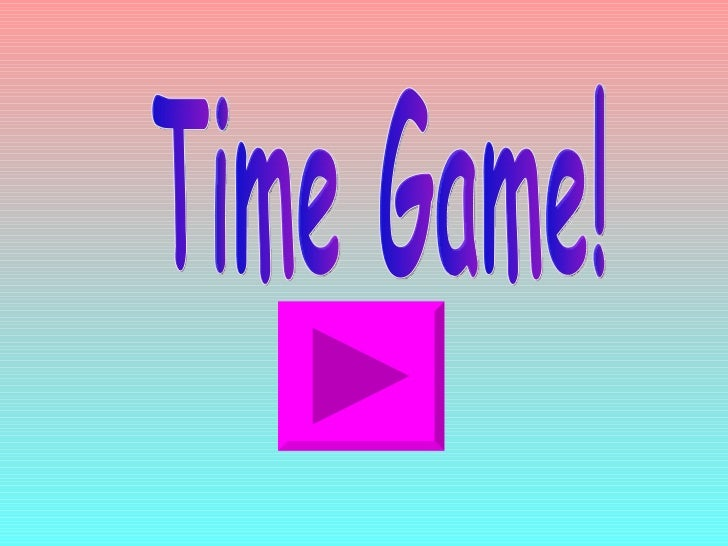 Timegame hours