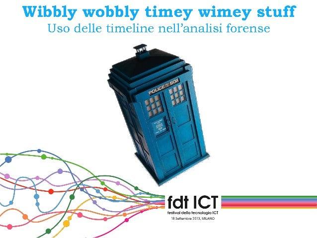 festival ICT 2013: Grande Giove! Hanno alterato la linea del tempo!