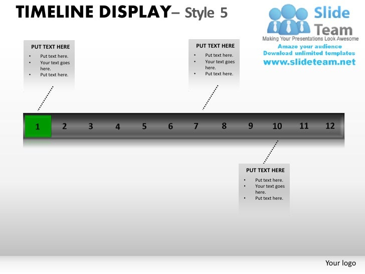 Time line display style 5 powerpoint presentation slides ppt templates