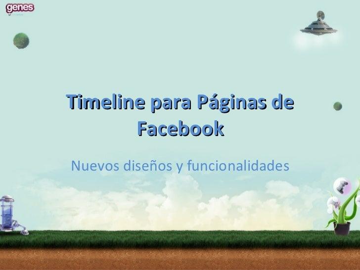 Timeline para empresas en Facebook