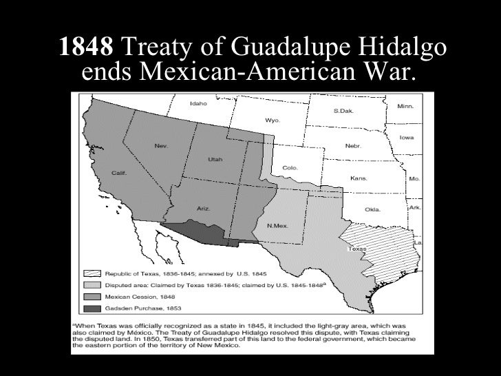 Lasting Effects of the Treaty of Guadalupe-Hidalgo
