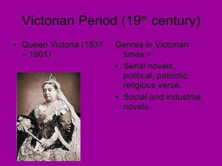 the victorian period essay