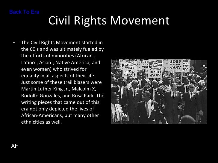 civil right movement