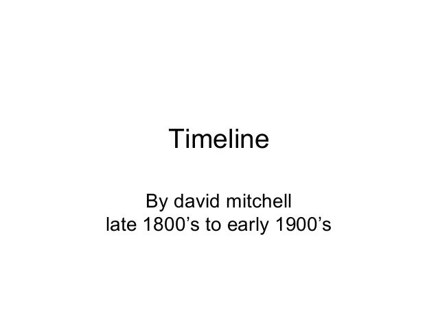 Timeline project for us history