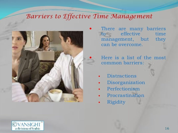 How to overcome time management barriers