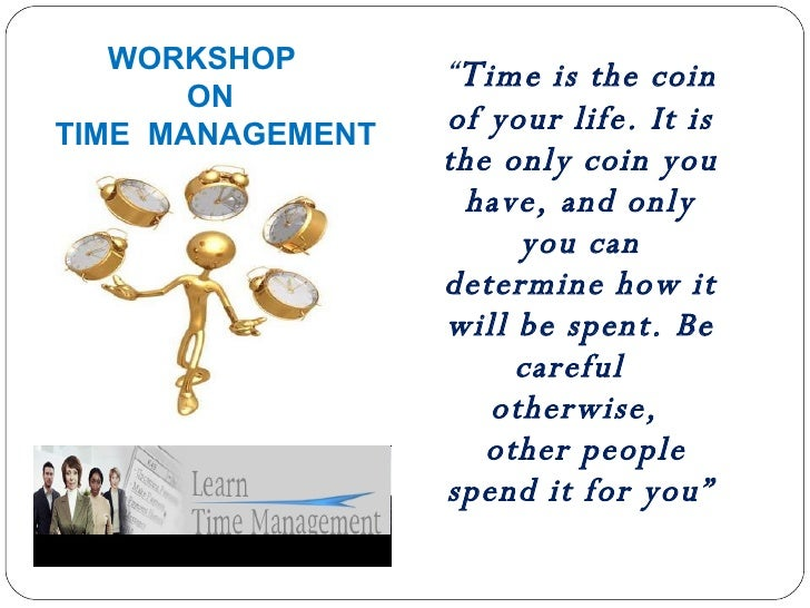 Time Management - catch the time