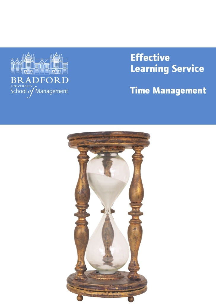 EffectiveLearning ServiceTime Management