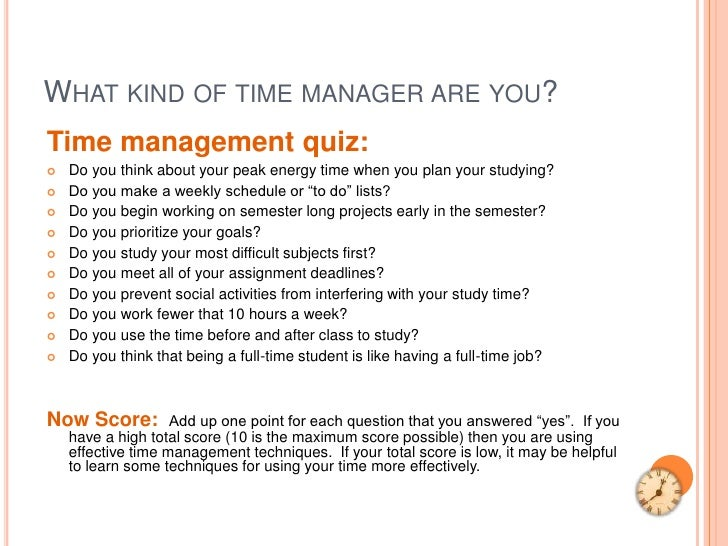 Time-Management Tips for Students