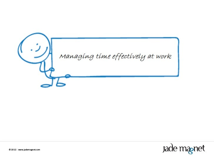 Time management at work