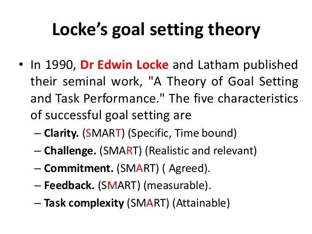 Locke's Goal-Setting Theory