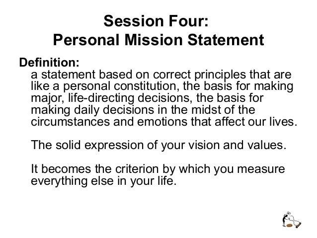 define personal ethics statement