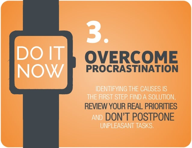 How do i overcome procrastination essay