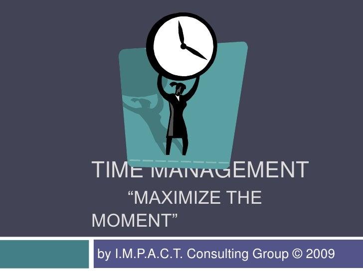 Time Management (Ivy Tech)