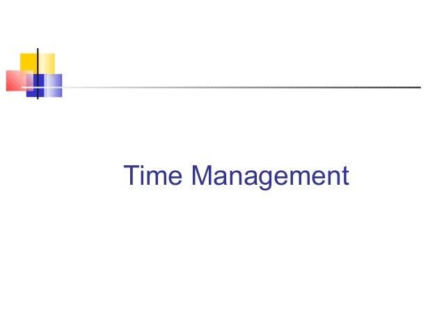 Timemanagementpresentation 1225346155354567-9