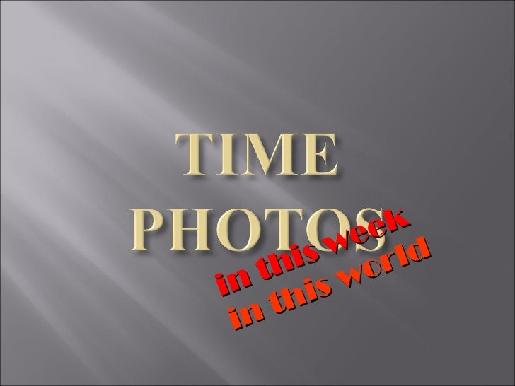 Time Photos 2011 Oct-Nov