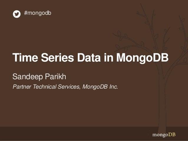 Webinar: Time-Series Data in MongoDB