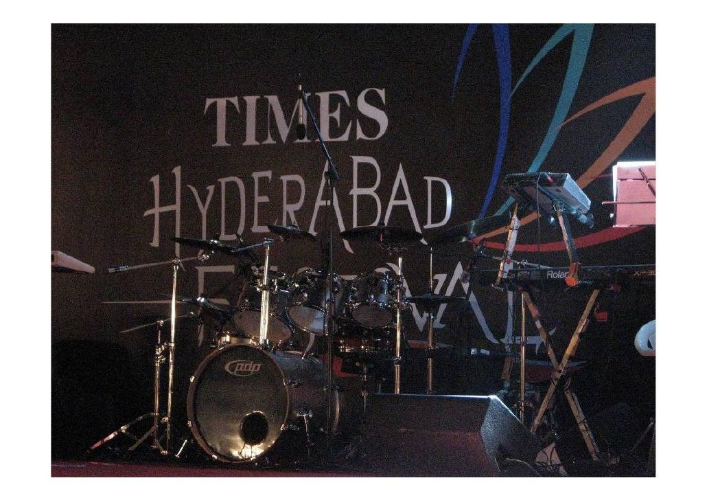 Times festival 2k11 Hyderabad