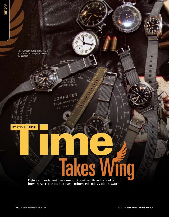 Flying and wristwatches grew up together. Here is a look at how those in the cockpit have influenced today's pilot's watch...