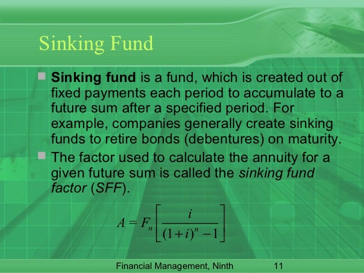 Sinking Fund Factor Calculator 28 Images Time Value Of