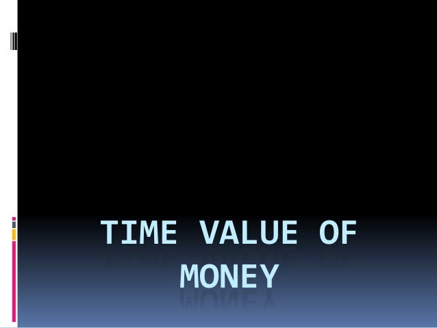 Time value of money   copy