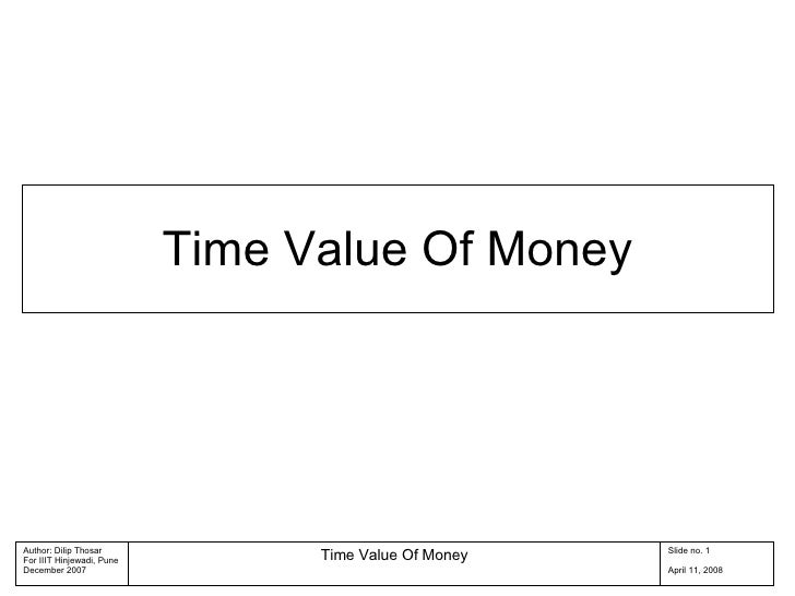 Time Value Of Money 04