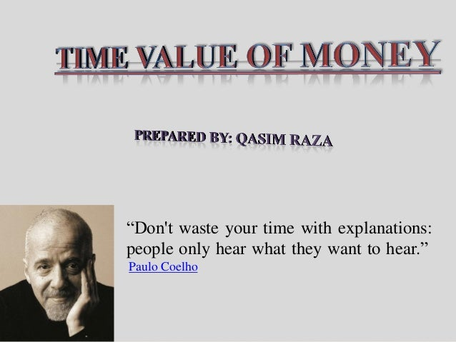 Time Value of Money (Financial Management)
