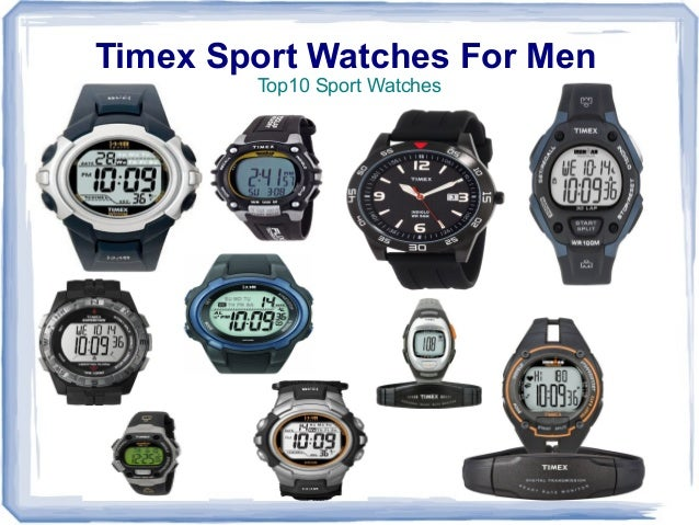 Timex Sport Watches For Men        Top10 Sport Watches