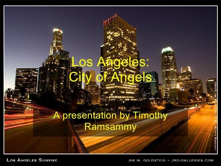 Timothy Los Angeles