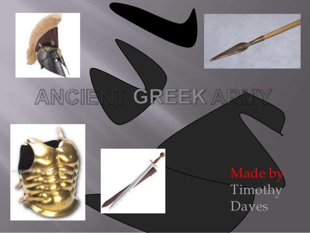 Timothy ancient greek army