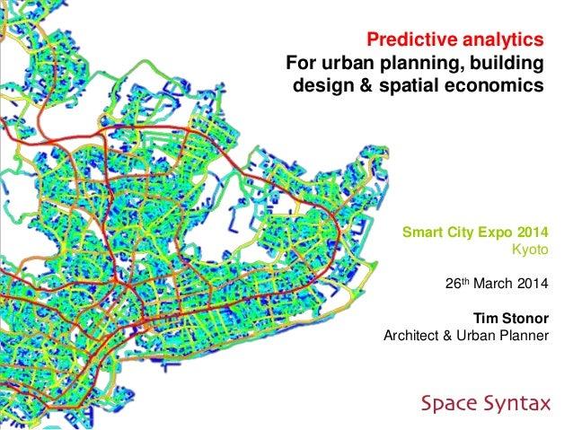 Tim Stonor_Predictive analytics_Kyoto Smart City Expo presentation