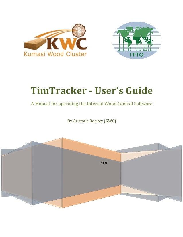 Tim tracker manual slide
