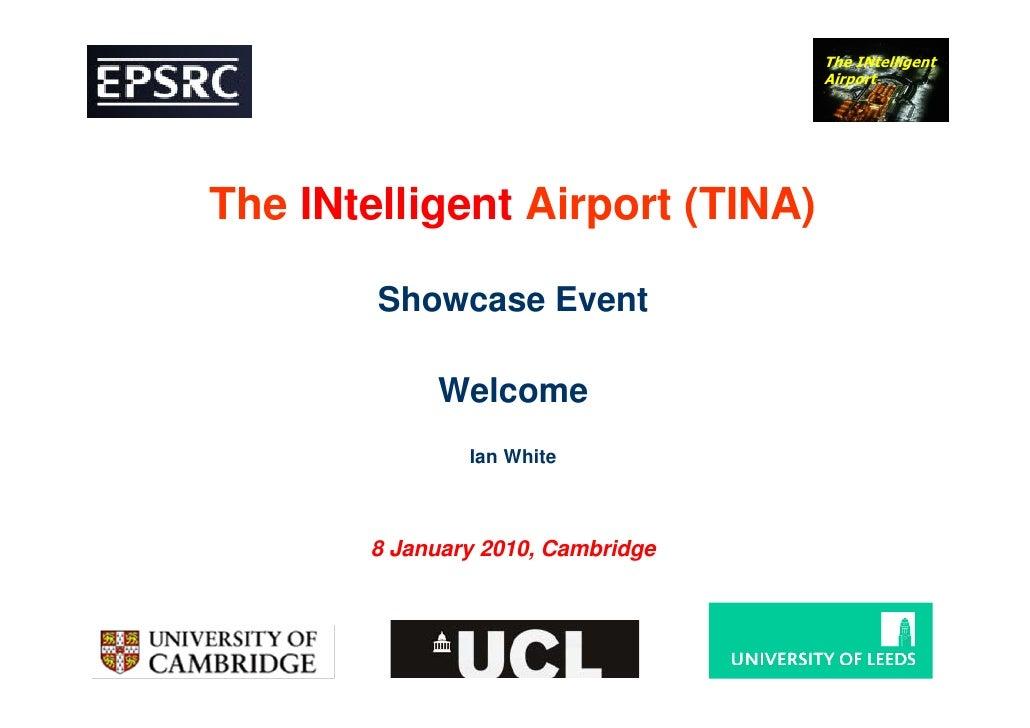 TINA showcase: Introduction