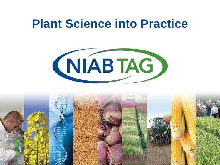 Plant science into practice - Tina Barsby (NIAB)