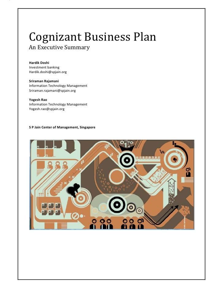 Start Up Summary Business Plan